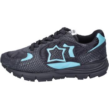 Cipők Női Rövid szárú edzőcipők Atlantic Stars Tornacipő BJ503 Fekete