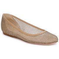 Cipők Női Balerina cipők  Sebastian GLIME Bézs