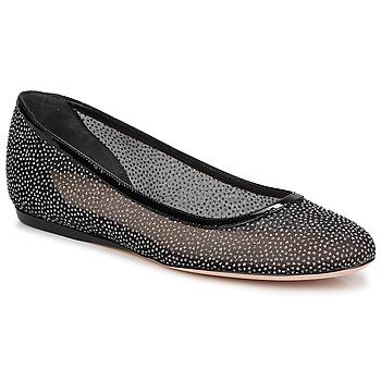 Cipők Női Balerina cipők  Sebastian GLIME Fekete