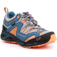 Cipők Férfi Túracipők Garmont 9.81 Trail Pro III GTX 481221-211 niebieski, pomarańczowy, szary