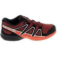 Cipők Gyerek Rövid szárú edzőcipők Salomon Speedcross K Rouge Noir Piros