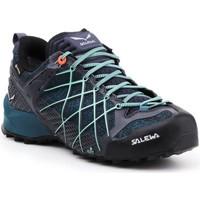 Cipők Női Túracipők Salewa Buty trekkingowe  Wildfire GTX 63488-3838 granatowy, niebieski, czarny