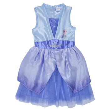 Ruhák Lány Rövid ruhák TEAM HEROES  FROZEN DRESS Kék