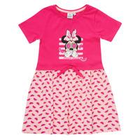 Ruhák Lány Rövid ruhák TEAM HEROES  MINNIE DRESS Rózsaszín