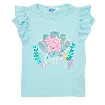 Ruhák Lány Rövid ujjú pólók TEAM HEROES  PEPPA PIG TEE Kék