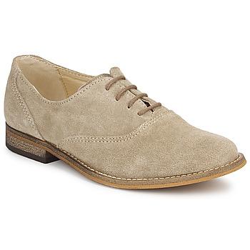 Cipők Lány Bőrcipők Citrouille et Compagnie MOUTUNE Bézs