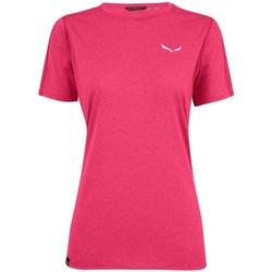 Ruhák Női Rövid ujjú pólók Salewa Pedroc 3 Dry W Rózsaszín