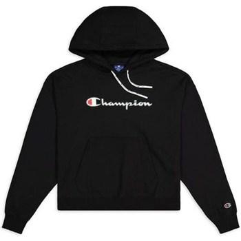 Ruhák Női Pulóverek Champion Hooded Sweatshirt Nbk Fekete
