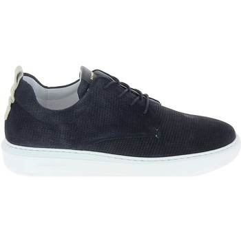 Cipők Férfi Rövid szárú edzőcipők Schmoove Bump Suede Print Bleu Kék