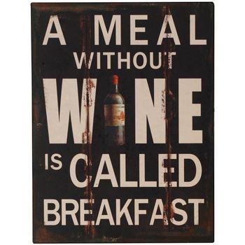 Otthon Poszterek, plakátok Signes Grimalt Fali Lemezek Wine Multicolor