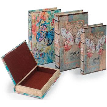Otthon Rekeszek és tárolók Signes Grimalt Könyvdoboz Set 4 Egység Multicolor