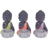 Otthon Szobrok, figurák Signes Grimalt T -Light Gyerekes Buddha Set 3U Multicolor