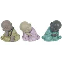 Otthon Szobrok, figurák Signes Grimalt Buddha 3 Különféle Alvás Multicolor