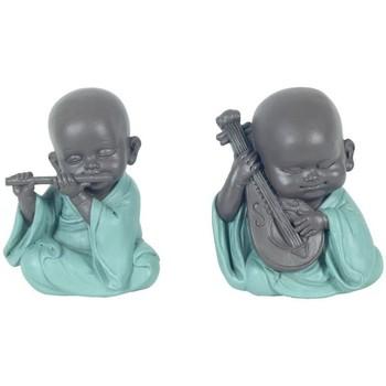 Otthon Szobrok, figurák Signes Grimalt Buddha Szeptemberben 2U Multicolor
