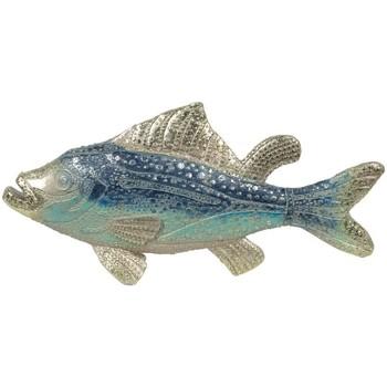 Otthon Szobrok, figurák Signes Grimalt Fish Megkönnyebbülten Multicolor