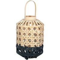 Otthon Díszlámpák Signes Grimalt Kis Természetes Bambusz Lámpa Negro