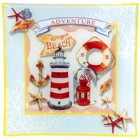 Otthon Képek, vásznak Signes Grimalt Tengeri Asztali Lemez Multicolor