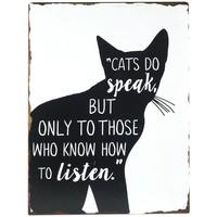 Otthon Képek, vásznak Signes Grimalt Fali Lemez Cat Negro
