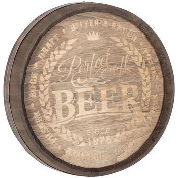 Otthon Ünnepi dekorációk Signes Grimalt Fali Dísz Beer Marrón