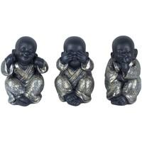 Otthon Szobrok, figurák Signes Grimalt Buddha No Go-Oye-Speech Szeptemberi 3U Plateado