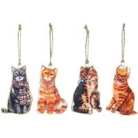 Otthon Ünnepi dekorációk Signes Grimalt Cat Hanging Szeptember 4 U Multicolor