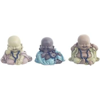 Otthon Szobrok, figurák Signes Grimalt 3 Különböző Buddha Szeptemberi 3U Multicolor