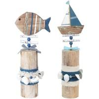 Otthon Szobrok, figurák Signes Grimalt Adorno Boat 2U Trunk Multicolor