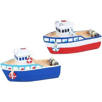 Otthon Szobrok, figurák Signes Grimalt Gyantás Csónakok Set 2 U Multicolor