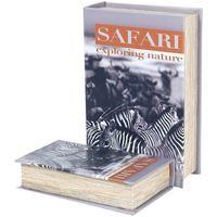 Otthon Rekeszek és tárolók Signes Grimalt Zebra Safari 2U Dobozok Book Multicolor