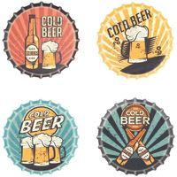 Otthon Szobrok, figurák Signes Grimalt Beer Mágnesek Szeptember 4 U Multicolor