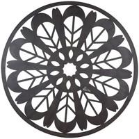 Otthon Képek, vásznak Signes Grimalt Fali Dísz Mandala Negro
