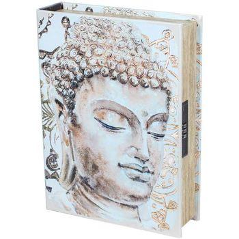 Otthon Rekeszek és tárolók Signes Grimalt Biztonsági Könyv-Buddha Doboz Beige