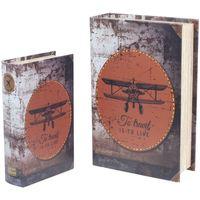 Otthon Rekeszek és tárolók Signes Grimalt Retro 2U Dobozok Paper Airplane Multicolor