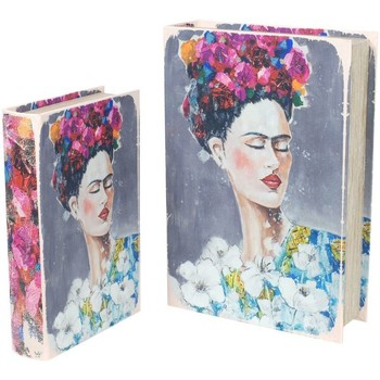 Otthon Rekeszek és tárolók Signes Grimalt Book Frida 2U Dobozok Szeptemberben Multicolor
