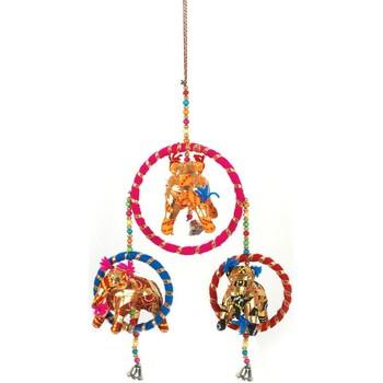 Otthon Ünnepi dekorációk Signes Grimalt India Elefánt Medál Multicolor