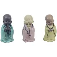 Otthon Szobrok, figurák Signes Grimalt Monk 3 Different Set 3U Multicolor