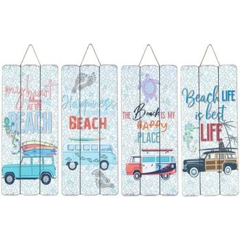 Otthon Képek, vásznak Signes Grimalt Fali Lemez Surf 4 Dif. Multicolor