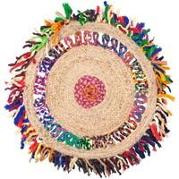 Otthon Szőnyegek Signes Grimalt Juta Szőnyegek Rojtok Multicolor