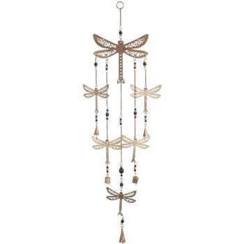 Otthon Ünnepi dekorációk Signes Grimalt Dragonfly Mobile Beige