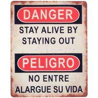 Otthon Képek, vásznak Signes Grimalt Veszély By Sigris Veszélyes Fali Lemez Multicolor