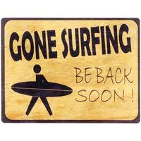 Otthon Képek, vásznak Signes Grimalt Fali Lemez Gone Surfin Amarillo