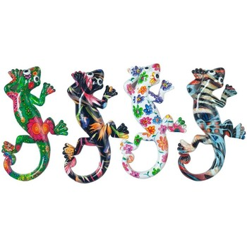 Otthon Szobrok, figurák Signes Grimalt Mágneses Lizard 4 Dif. Multicolor
