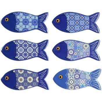 Otthon Szobrok, figurák Signes Grimalt Mágneses Fish 6U Azul
