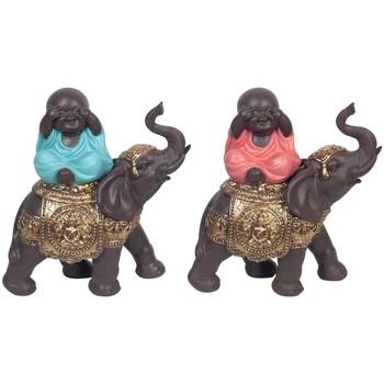 Otthon Szobrok, figurák Signes Grimalt Buddha Elefánt Szeptemberben 2U Multicolor