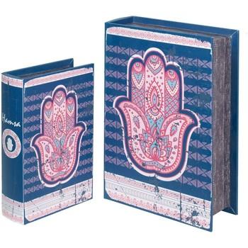 Otthon Rekeszek és tárolók Signes Grimalt Fatima 2U Dobozok Hand Book Azul