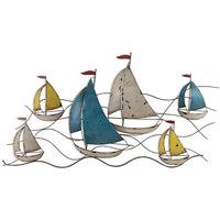 Otthon Szobrok, figurák Signes Grimalt Hajófal Dísz Multicolor