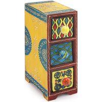 Otthon Rekeszek és tárolók Signes Grimalt Spice Rack 3 Fiók Multicolor