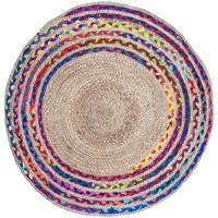 Otthon Szőnyegek Signes Grimalt Fonott Juta Szőnyeg Multicolor
