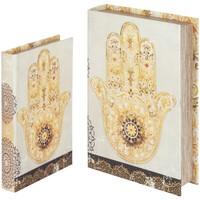 Otthon Rekeszek és tárolók Signes Grimalt Hand Book Fatima Szeptemberben 2U Beige