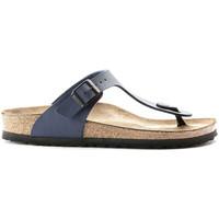Cipők Férfi Lábujjközös papucsok Birkenstock 143621 Kék